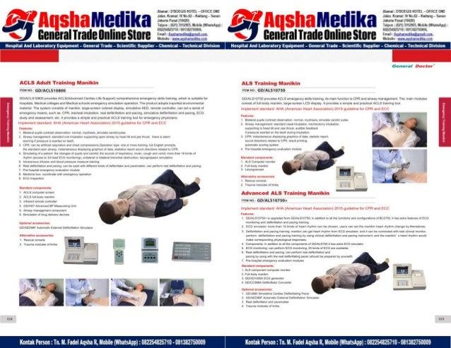 Phantom Alat Peraga Kesehatan General Doctor Product Catalog 2017-2018 – Hal.23