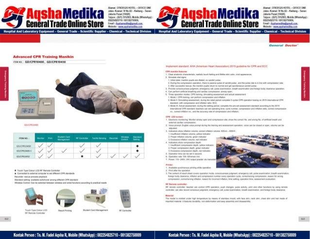 Phantom Alat Peraga Kesehatan General Doctor Product Catalog 2017-2018 – Hal.25