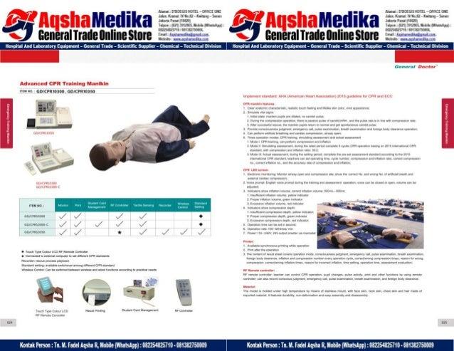 Phantom Alat Peraga Kesehatan General Doctor Product Catalog 2017-2018 – Hal.26
