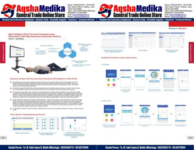 Phantom Alat Peraga Kesehatan General Doctor Product Catalog 2017-2018 – Hal.2