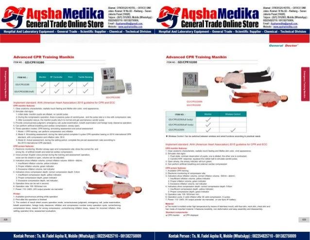 Phantom Alat Peraga Kesehatan General Doctor Product Catalog 2017-2018 – Hal.28
