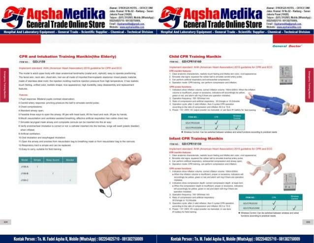 Phantom Alat Peraga Kesehatan General Doctor Product Catalog 2017-2018 – Hal.31