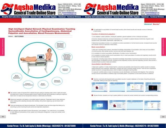 Phantom Alat Peraga Kesehatan General Doctor Product Catalog 2017-2018 – Hal.40