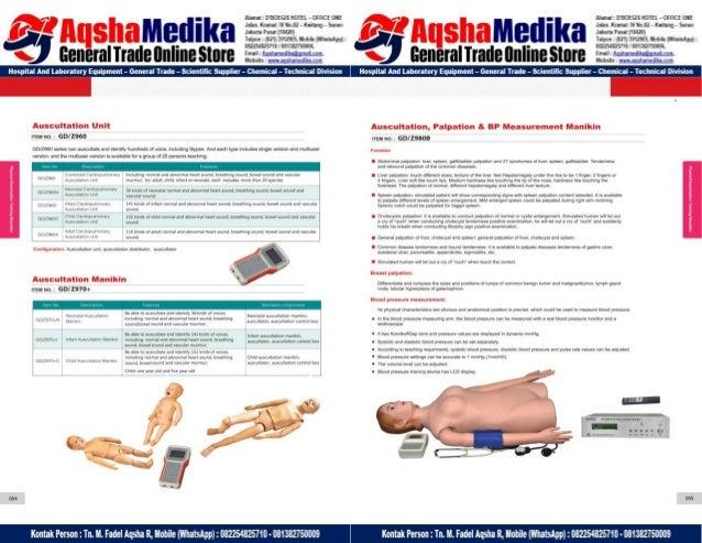 Phantom Alat Peraga Kesehatan General Doctor Product Catalog 2017-2018 – Hal.41