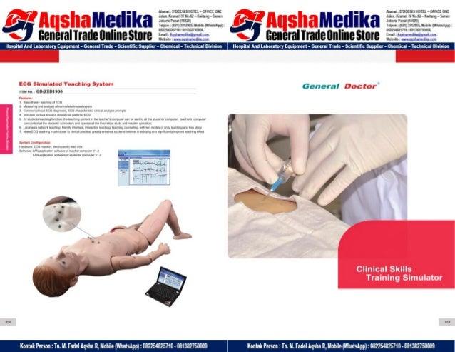 Phantom Alat Peraga Kesehatan General Doctor Product Catalog 2017-2018 – Hal.43