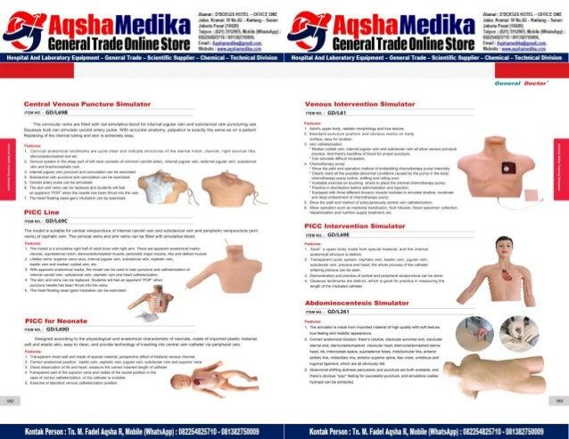 Phantom Alat Peraga Kesehatan General Doctor Product Catalog 2017-2018 – Hal.45