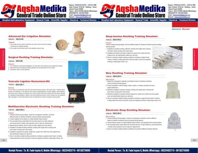 Phantom Alat Peraga Kesehatan General Doctor Product Catalog 2017-2018 – Hal.51