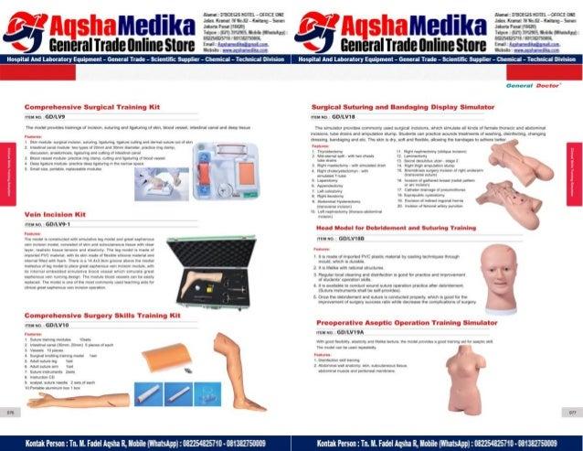 Phantom Alat Peraga Kesehatan General Doctor Product Catalog 2017-2018 – Hal.52