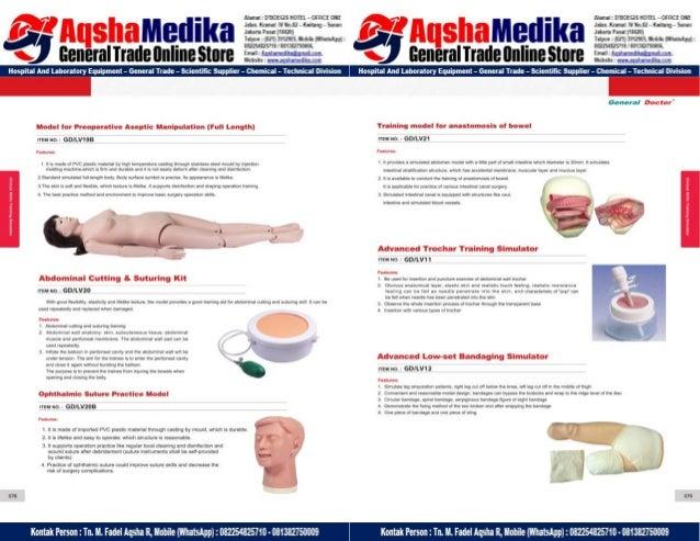 Phantom Alat Peraga Kesehatan General Doctor Product Catalog 2017-2018 – Hal.53