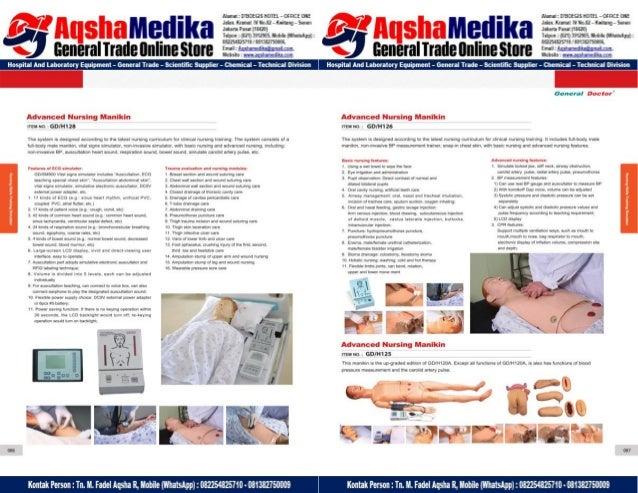 Phantom Alat Peraga Kesehatan General Doctor Product Catalog 2017-2018 – Hal.57