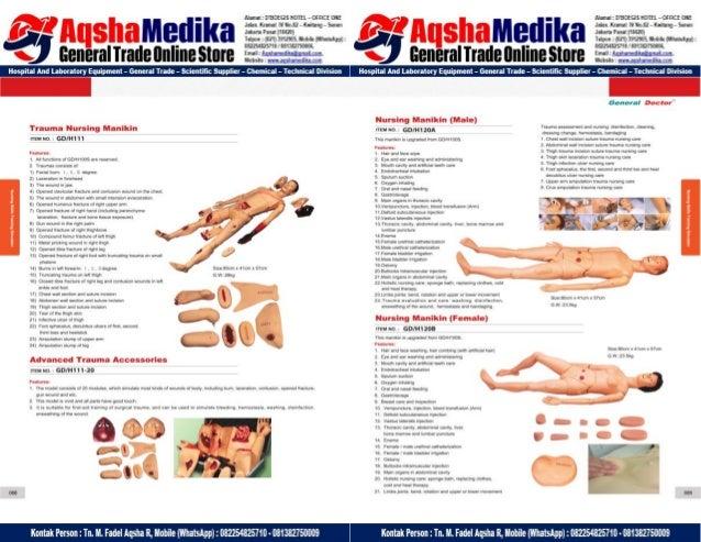 Phantom Alat Peraga Kesehatan General Doctor Product Catalog 2017-2018 – Hal.58