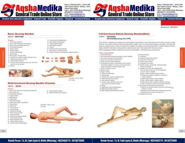 Phantom Alat Peraga Kesehatan General Doctor Product Catalog 2017-2018 – Hal.59