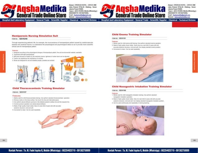 Phantom Alat Peraga Kesehatan General Doctor Product Catalog 2017-2018 – Hal.61