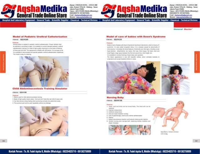 Phantom Alat Peraga Kesehatan General Doctor Product Catalog 2017-2018 – Hal.62
