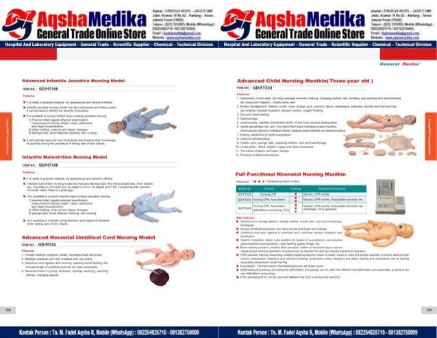 Phantom Alat Peraga Kesehatan General Doctor Product Catalog 2017-2018 – Hal.63