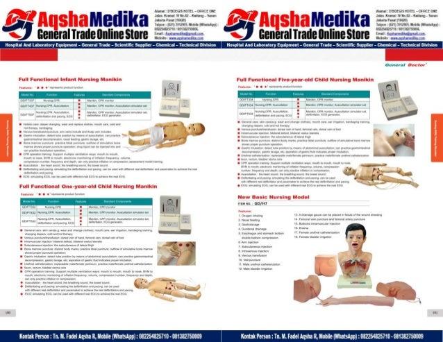 Phantom Alat Peraga Kesehatan General Doctor Product Catalog 2017-2018 – Hal.64