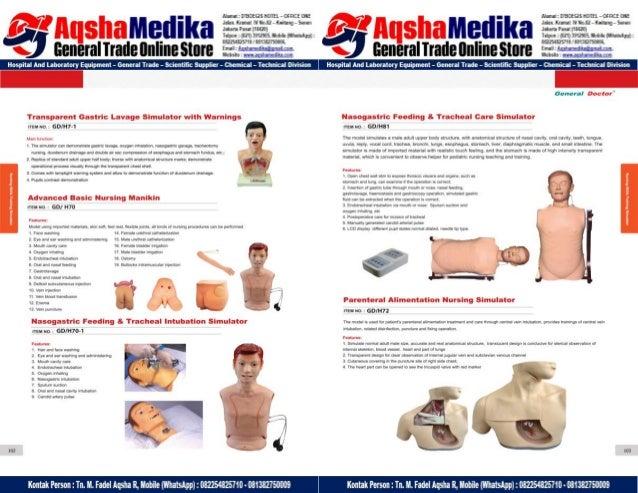 Phantom Alat Peraga Kesehatan General Doctor Product Catalog 2017-2018 – Hal.65