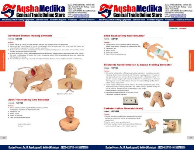Phantom Alat Peraga Kesehatan General Doctor Product Catalog 2017-2018 – Hal.67