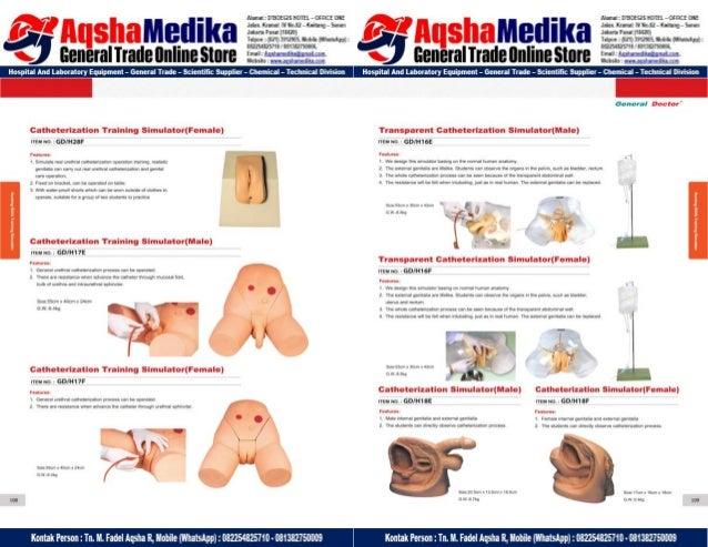 Phantom Alat Peraga Kesehatan General Doctor Product Catalog 2017-2018 – Hal.68