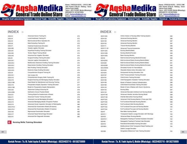 Phantom Alat Peraga Kesehatan General Doctor Product Catalog 2017-2018 – Hal.07