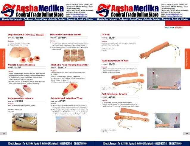 Phantom Alat Peraga Kesehatan General Doctor Product Catalog 2017-2018 – Hal.70