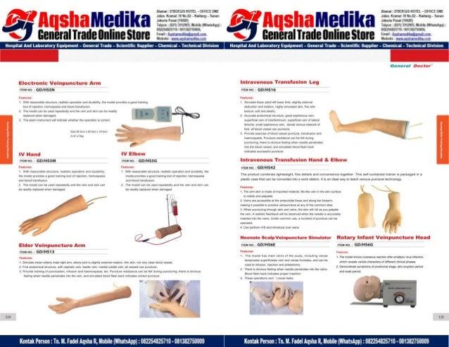 Phantom Alat Peraga Kesehatan General Doctor Product Catalog 2017-2018 – Hal.71