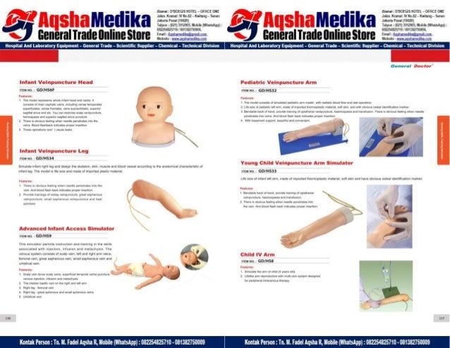Phantom Alat Peraga Kesehatan General Doctor Product Catalog 2017-2018 – Hal.72