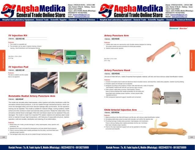 Phantom Alat Peraga Kesehatan General Doctor Product Catalog 2017-2018 – Hal.73