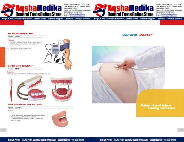 Phantom Alat Peraga Kesehatan General Doctor Product Catalog 2017-2018 – Hal.76