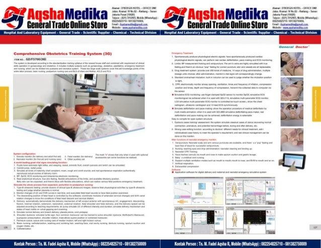 Phantom Alat Peraga Kesehatan General Doctor Product Catalog 2017-2018 – Hal.77