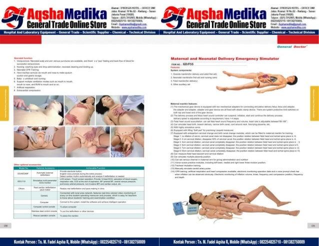 Phantom Alat Peraga Kesehatan General Doctor Product Catalog 2017-2018 – Hal.79