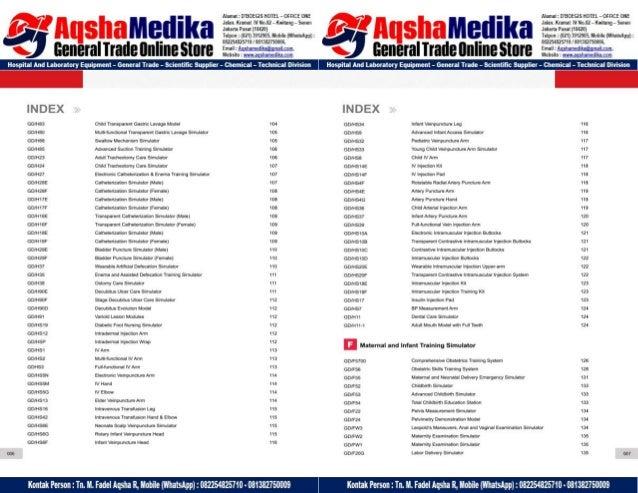 Phantom Alat Peraga Kesehatan General Doctor Product Catalog 2017-2018 – Hal.08