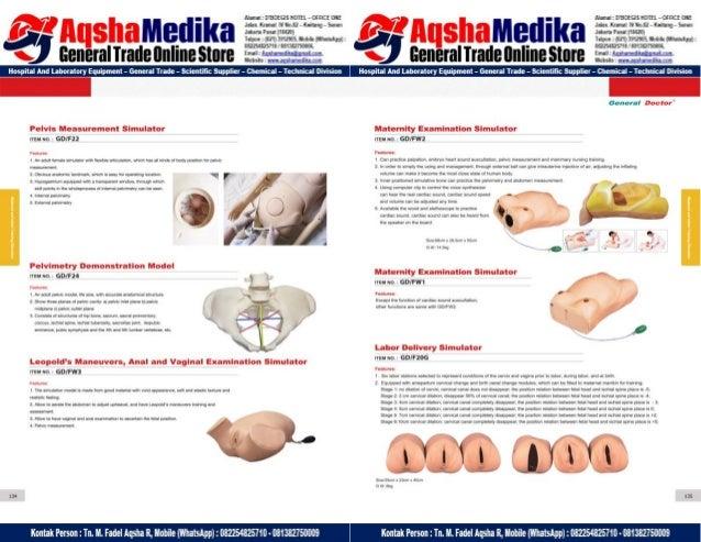 Phantom Alat Peraga Kesehatan General Doctor Product Catalog 2017-2018 – Hal.81