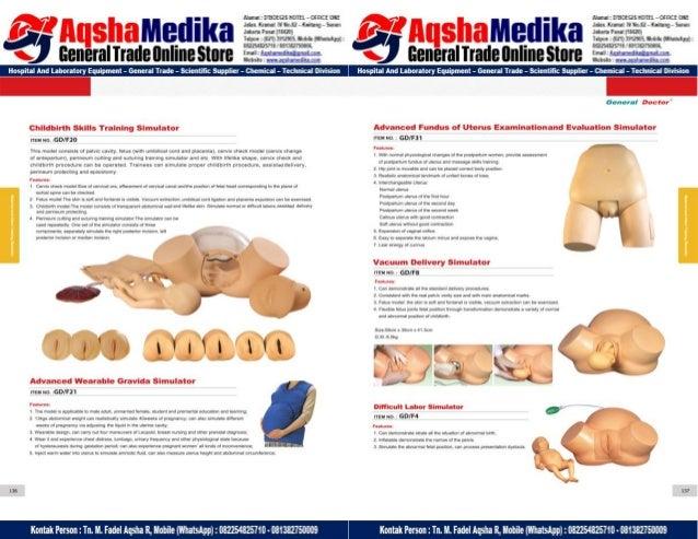 Phantom Alat Peraga Kesehatan General Doctor Product Catalog 2017-2018 – Hal.82