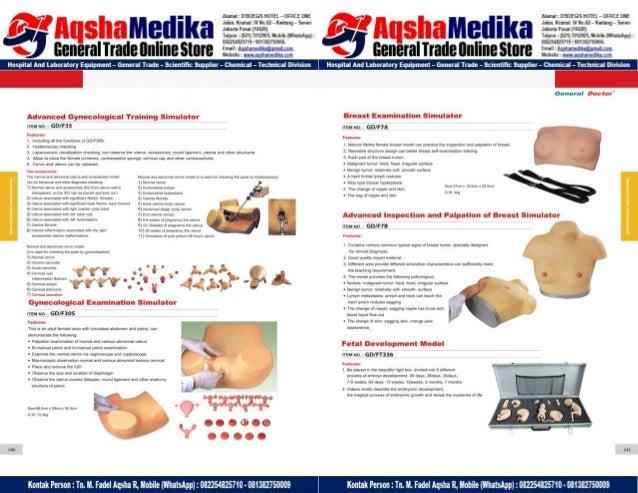 Phantom Alat Peraga Kesehatan General Doctor Product Catalog 2017-2018 – Hal.84