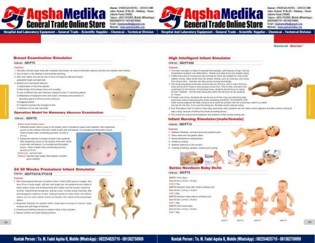 Phantom Alat Peraga Kesehatan General Doctor Product Catalog 2017-2018 – Hal.85