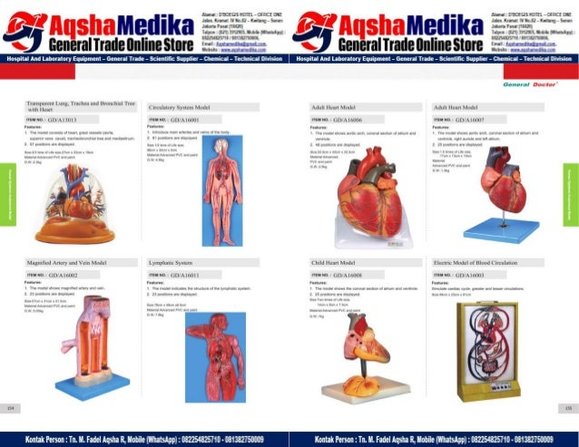Phantom Alat Peraga Kesehatan General Doctor Product Catalog 2017-2018 – Hal.91