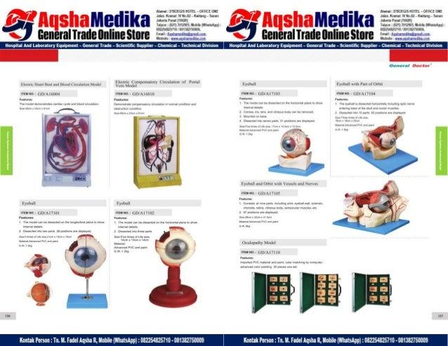 Phantom Alat Peraga Kesehatan General Doctor Product Catalog 2017-2018 – Hal.92