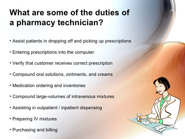 Pharmacy Technician Orientation