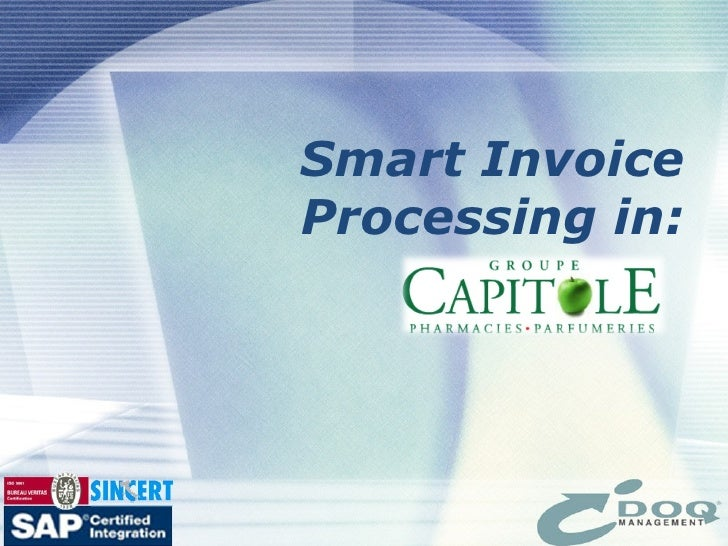 Smart Invoice Processing in: