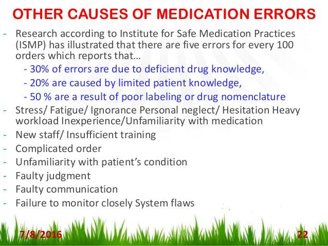 STRATEGIES TO PREVENT MED. ERRORS 7/8/2016 23 It is important for all nurses to become familiar with various strategies to...