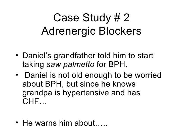 pharmacology case essay