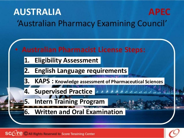 foreign licenses to practice for pharmacists