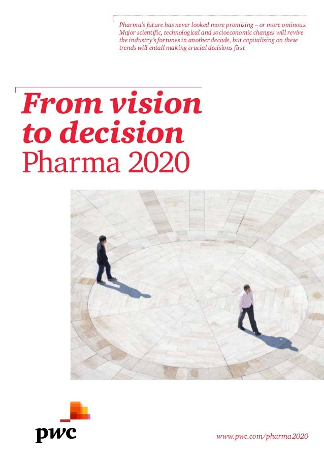 Pharma's future has never looked more promising – or more ominous.     Major scientific, technological and socioeconomic c...