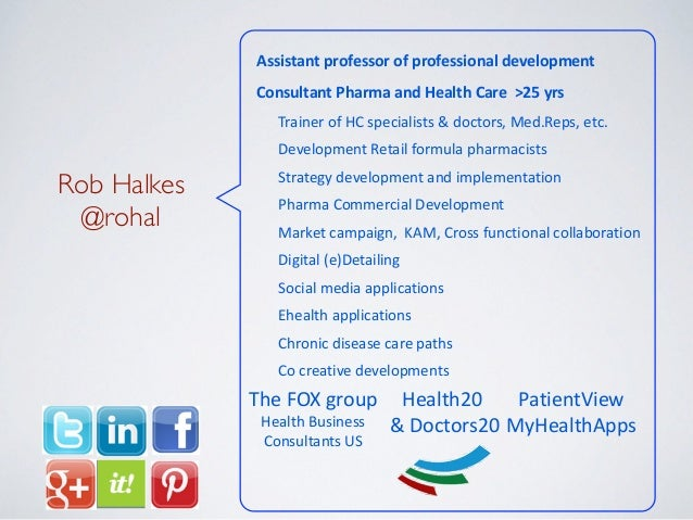 Assistant  professor  of  professional  development Consultant  Pharma  and  Health  Care    >25  yr...
