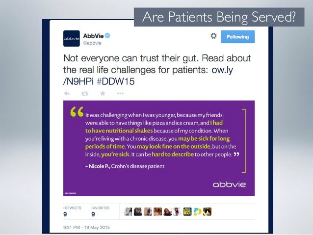 Are Patients Being Served?
