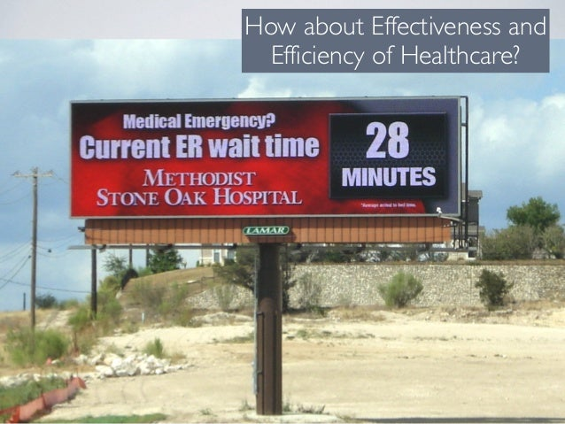 How about Effectiveness and Efficiency of Healthcare?