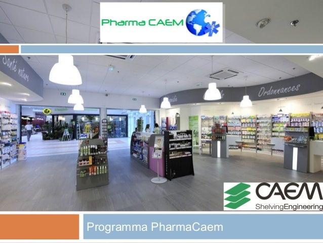 pharmacaem il programma di arredamento per farmacie