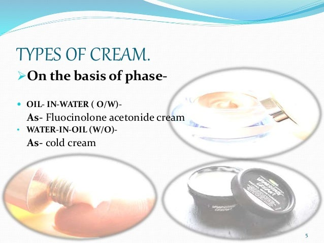 pharmaceutical creams