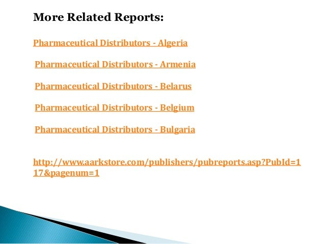 Pharmaceutical distributors germany